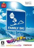 家庭滑雪 海报